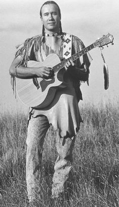 """""""Poet Singer"""" and lecturer from the Blackfeet Indian Nation of Montana"""