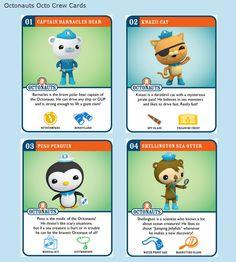 http://jovialspondoodles.blogspot.co.uk/p/octonauts-octo-rew-cards.html