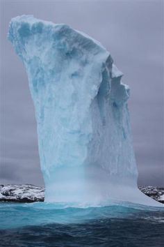 An iceberg near Palmer Station, Antarctica. Photograph by: Kelly Jacques, National Science Foundation, Date Taken: April 2010 National Science Foundation, April 21, Antarctica, Photo Library, Photograph, Outdoor, Photography, Outdoors, Photographs