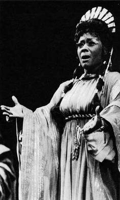 Opera Mezzo Soprano Shirley Verrett