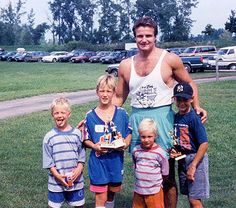 Papa Gronk and his boys!!