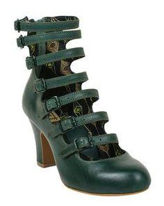 Miss L Fire Elizabeth Bootie elizabeth bootie green | this one for me