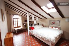 Beautiful light attic!