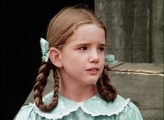 Melissa Gilbert as Laura Ingalls on Little House on the Prairie