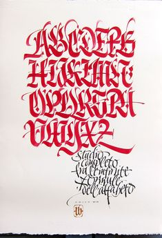 Infinite formule by Luca Barcellona - Calligraphy & Lettering Arts, via Flickr