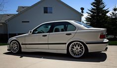 BMW on Apex Wheels and more mods. Bmw M3 Sedan, Bmw 318, E36 Coupe, Bmw 1 Series, Bmw Cars, Toyota Celica, Cars And Motorcycles, Cool Cars, Play Hard