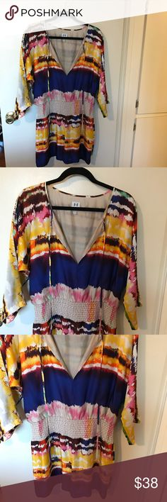 ✨SALE✨ Halston Heritage 100% Silk Romper ✨SALE✨ Halston Heritage 100% Silk Romper ✨Store closing Permanently 1/28/18✨ Get it before it's gone forever!  Bundle and make offers! Halston Heritage Dresses