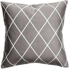 Jacquard-weave Cushion Cover $12.99 (115 SEK) ❤ liked on Polyvore featuring home, home decor and throw pillows