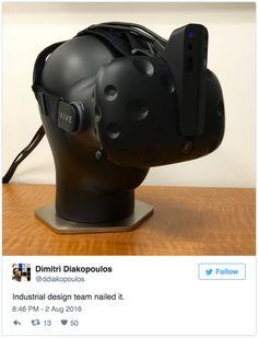 Intel shows off mystery depth-sensing virtual reality accessory