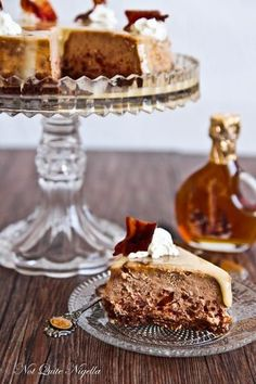 Bacon Maple Cheesecake