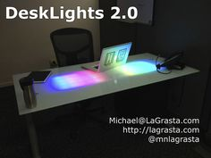 LED Glass Desk v2.0