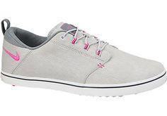 Pure Platinum Nike Ladies Lunar Adapt Golf Shoes