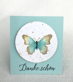 Schmetterlingsglück, No-line Watercoloring Butterfly Watercolor, Butterfly Cards, Stamping Up, Catalog, Blog, Mini, Papillons, Cards, Die Cutting