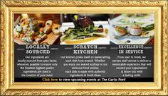The Garlic Poet Restaurant & Bar near Harrisburg & York, PA.