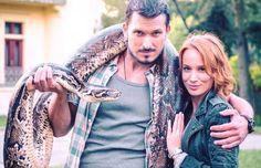 Ján Koleník & Táňa Pauhofová Tv Show Music, Idol, Tv Shows, Vest, Actors, Film, Jackets, Birthday Gifts, Gift Ideas