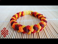 How to Make a 4 Strand Round Braid Paracord Bracelet with Buckles Tutorial - YouTube