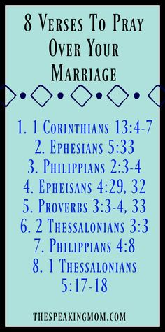 8 Verses To Pray Over Your Husband