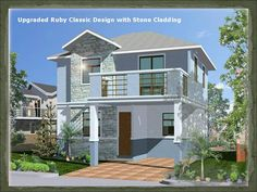 Filipino Architect Contractor 2 Storey House Design Philippines
