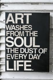 Similar to a quote by Picasso