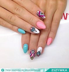 Zobacz zdjęcie ... w pełnej rozdzielczości Gel Manicure, Nails, Manicures, Nail Arts, Nail Art Designs, Make Up, My Style, Beauty, Enamels