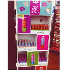 Spotted this display at Walmart. New Rimmel Products? https://www.youtube.com/user/savannahandstuff/