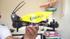 Ideafly Grasshopper RTF FPV Racing Quadcopter Indoor Review
