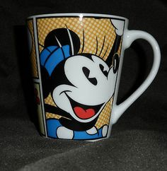 Disney Mug Minnie Mouse Coffee Tea Mug Glass Cup
