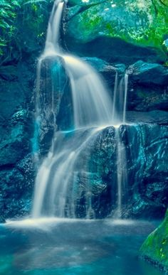 Waterfall in Mauritius | By www.facebook.com/vidz.photography