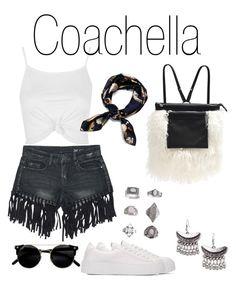 """Coachella"" by imanko on Polyvore featuring mode, Alisa Smirnova, Topshop et Sans Souci"