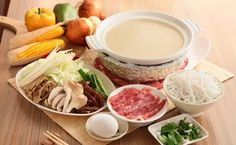 Guoqiao Mixian is a speciality of Yunnan that consists of chicken broth, slices of meat and veggies, and rice noodles. #KunmingFood via TW by Discover Kunming @DiscoverKunming