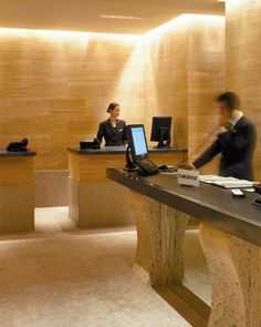 #Concierge desk @ Park #Hyatt #Milan