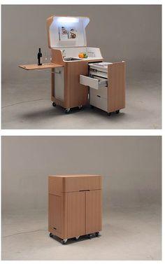 Une cuisine compacte pour les petits apparts! – L'Humanosphère