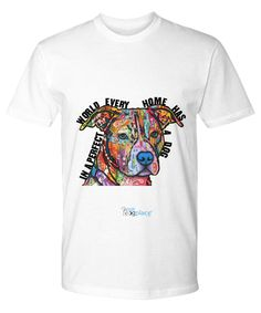 PITBULL in Every Home - tee/sweat/tank/youth (white)