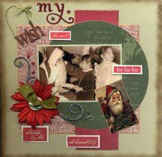 Layout: My Christmas Wish