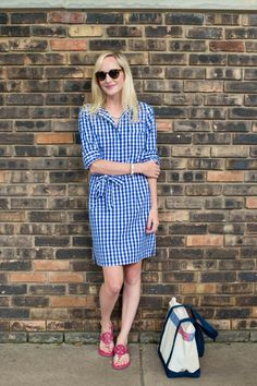 The perfect gingham dress!