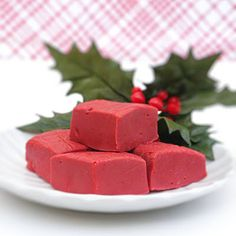 Red Velvet Fudge...Ultimate Christmas Goodie!!!