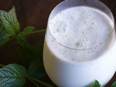 Salted Lassi (Lhassi) With Cumin And Mint Recipe — Dishmaps
