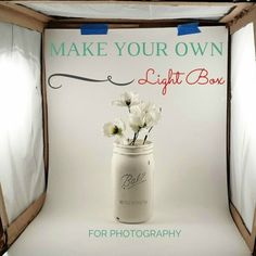Make Your Own Light Box & Taking a Good Picture Part 1: DIY Light Box for Jewelry ... Aboutintivar.Com