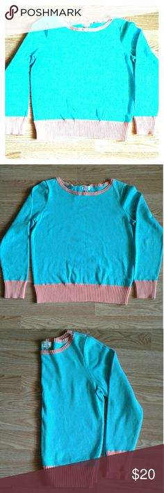 Izod Stretch Sweater Izod Stretch Sweater. Light Blue & Coral. 85% Cotton 12% Nylon 3% Spandex. Izod Sweaters