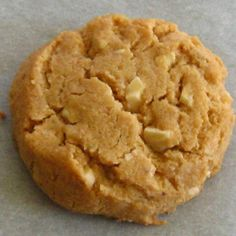 Flourless Cashew Butter Cookies  Makes 18 to 24 cookies