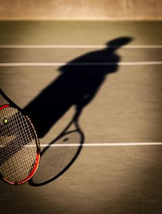 Tennis by Caitlyn Grasso. This long shadow was cast in a late afternoon tennis practice. On the California central coast outdoor tennis is a year-round sport. Though frequently called on account of rain in the winter months, it is never cancelled due to snow!
