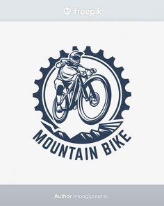 Vintage Logo Design, Vintage Logos, Custom Logo Design, Graphic Design, Hipster Vintage, Retro Vintage, Vintage Bicycles, Sport Logos, Vintage Illustration