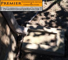 Please turn the blocker plate under the downspout in the right direction! In this case, the plate is backwards, directing the water into the foundations. Not a good idea. - http://www.premierfoundationrepair.com/