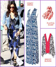 obviously i wont need this for many years, but I want to be a fashionable and cute pregnant lady!  Jenna Dewan-Tatum's pregnancy style featuring Rachel Pally in @Us Weekly