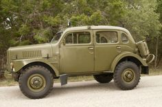 for driving around town... 1956 Volvo TP-21 Sugga Swedish Military 4WD