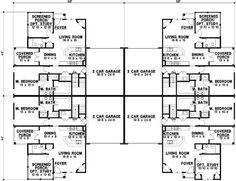 Planes casa de estilo tradicional - 4700 pies cuadrados de construcción Home, 1 Story, 8 Dormitorio 8 y 3 cuartos de baño, 8 Cochera puestos por planes de vivienda del monstruo - Plan de 21-461