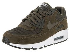 b7bb706b9c11 Nike AIR MAX 90 PREM womens fashion-sneakers 443817-300 5 - Dark Loden Dark  Loden Ivory