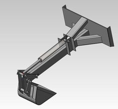 Skid Steer Backhoe Attachment - From Scratch - Machine Builders Network