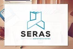 Diseño logotipo para SERAS servicios asistenciales (realizado para CGDesign)