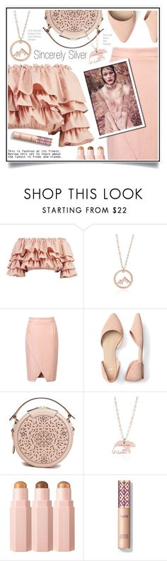 """WIN $65 worth of Sincerely Silver Jewelry"" by ewa-naukowicz-wojcik ❤ liked on Polyvore featuring Boohoo, WithChic, Tadashi Shoji, MyFABSUMbeauties, sincerelysilver and Mincerelysilver"